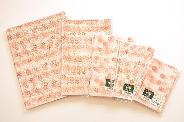桜柄クリスタルパック
