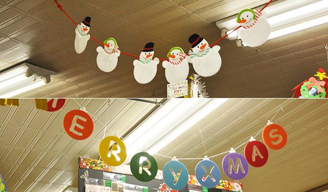 クリスマス天井飾り各種