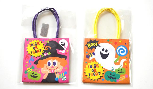 ハロウィン ミニ紙袋
