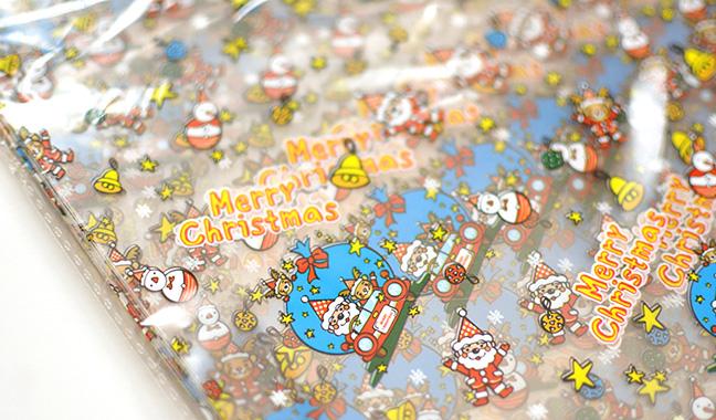 クリスマス柄クリスタルパック