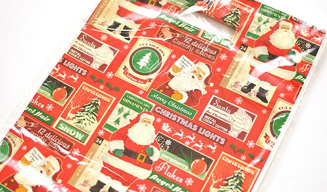 クリスマス 手抜ポリ袋