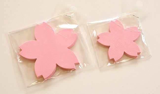 桜型カード