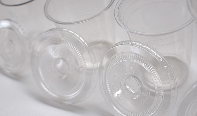 プラスチックカップ用フタ