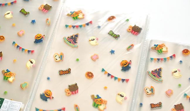 ハロウィンお菓子柄 クリスタルパック