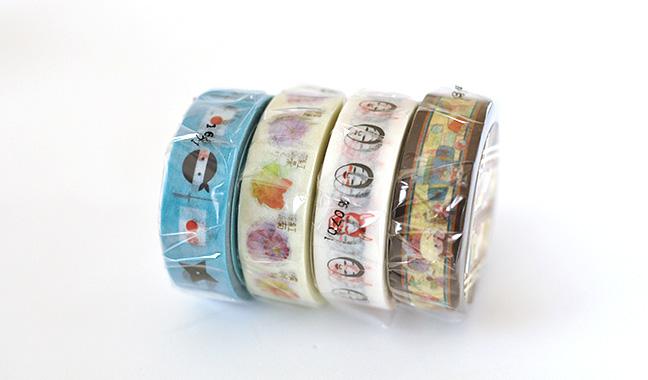 デザインマスキングテープ