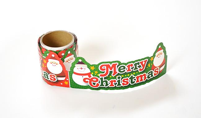 クリスマス棚ポップ