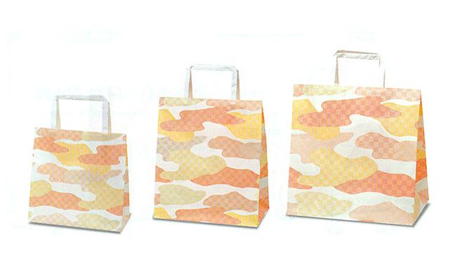 霞柄の紙袋