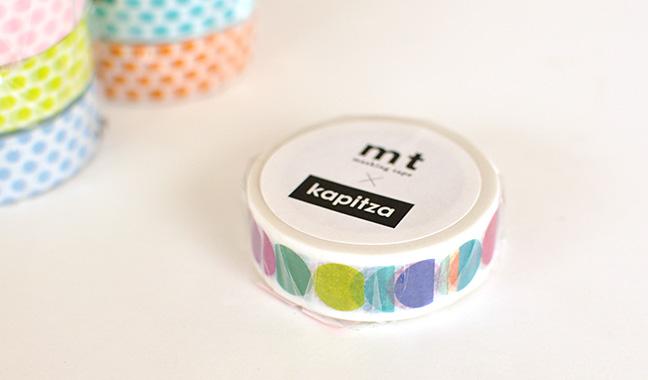 mt×artist series カピッツァ マスキングテープ