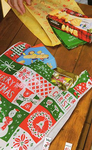 クリスマス レジ袋