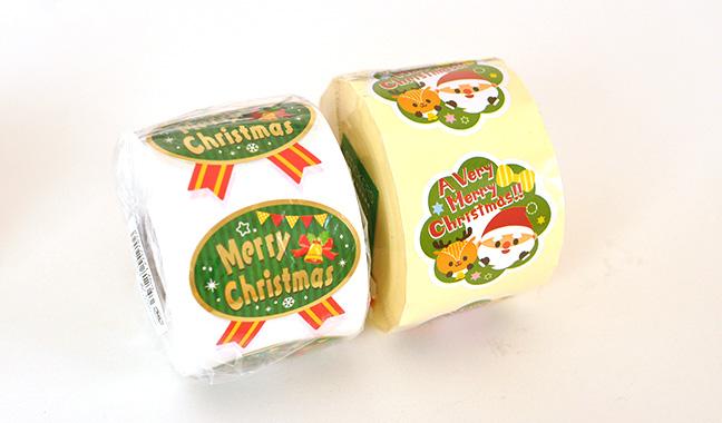 クリスマス ロールシール