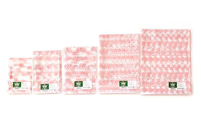 桜の花びら柄クリスタルパック