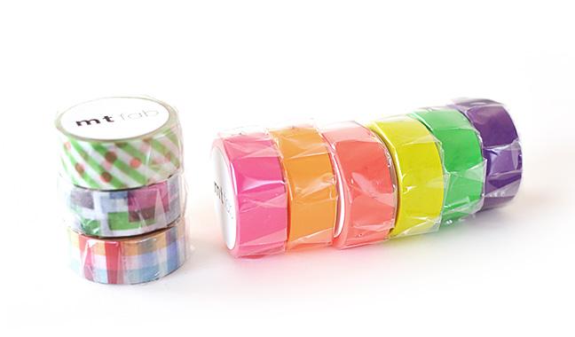 mt fab 両面印刷テープ・mt fab 蛍光インキテープ