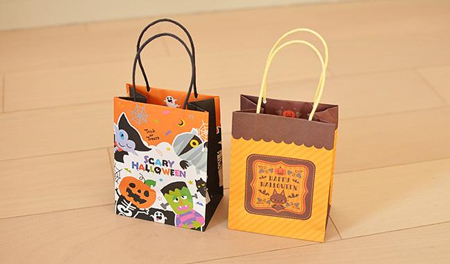 ハロウィン ミニ手提げ紙袋