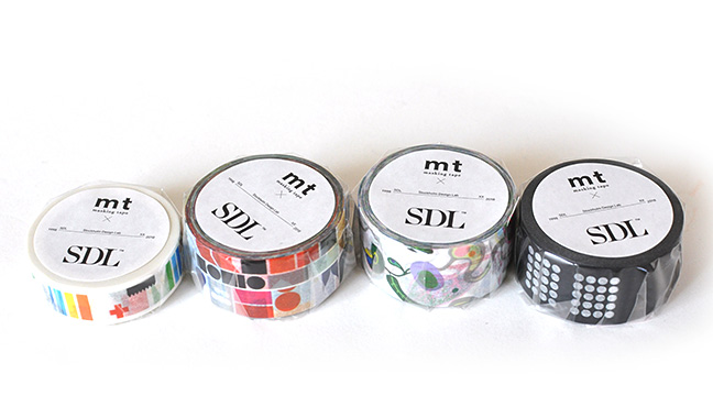 mt×artist series SDL(Stockholm Design Lab) マスキングテープ