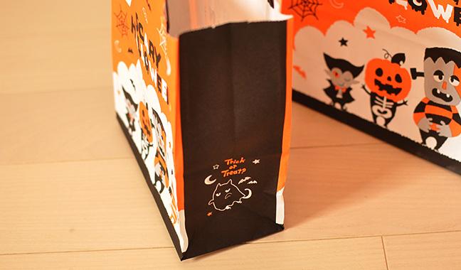 ハロウィン手提げ紙袋