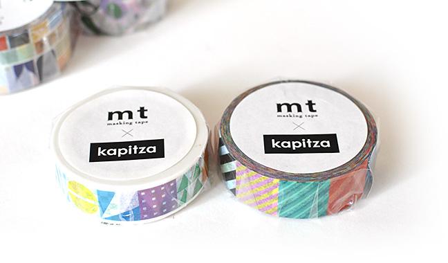 mt×artist series kapitza マスキングテープ