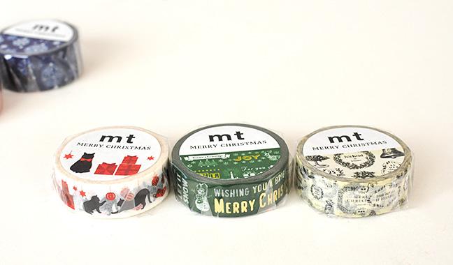 クリスマス柄 mtマスキングテープ