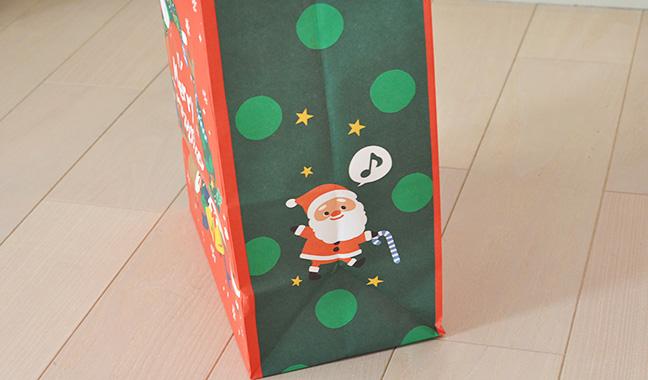 クリスマス柄ギフトバック
